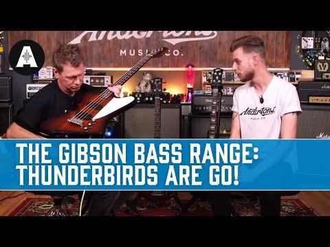 The Gibson Bass Range - Thunderbirds Are Go!