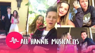 ALL ANNIE LEBLANC AND HAYDEN SUMMERALL HANNIE MUSICAL.LYS