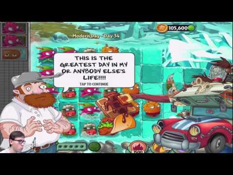 Игра - Растения Против Зомби 2 - смотреть прохождение от Flavios #10