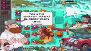 ПОСЛЕДНИЙ УРОВЕНЬ в Plants vs Zombies 2 - ФИНАЛ, ИГРА ПРОЙДЕНА + Pinata Party