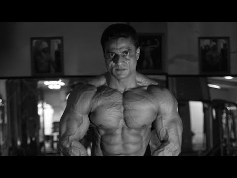 First Indian bodybuilder on the stage of Olympia