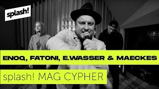 splash! Mag Cypher #22: Enoq, Fatoni, Edgar Wasser & Maeckes @ Red Bull Studios Berlin (Archiv)