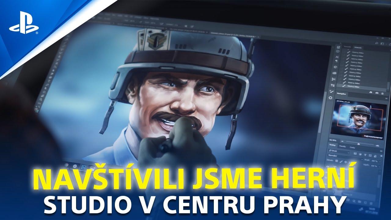 Navštívili jsme herní studio v centru Prahy | PlayStation Play