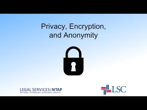 Backup Privacy and encryption webinar