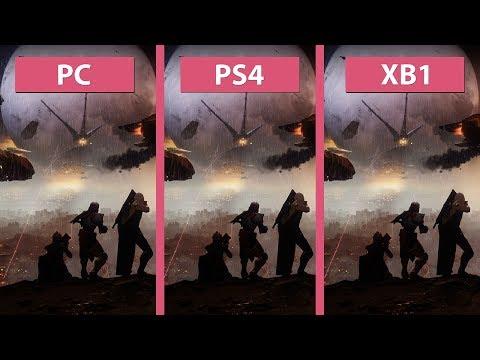 Destiny 2 – PC vs. PS4 vs. Xbox One Beta Graphics Comparison