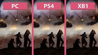 Destiny 2 – PC vs. PS4 vs. Xbox One Beta Graphics Comparison