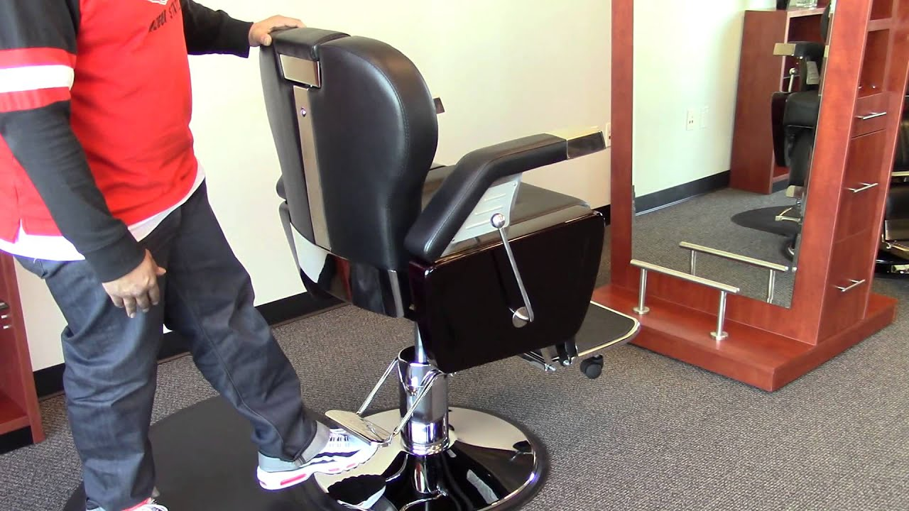 ALEXANDER Barber Chair by AGS BEAUTY