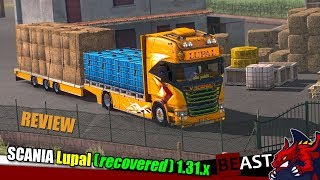 ETS2 1 31b truck mod SCANIA Lupal Recovered 1 31 x review