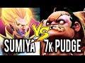 SumiYa [Invoker] vs 7k MMR Pudge ► Why Everyone Wanna Kill Me Dota 2 7.06