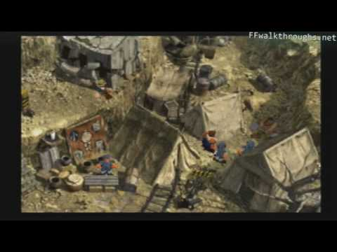 Ff7 Karte.Final Fantasy Vii 031 Corel Mountains And North Corel