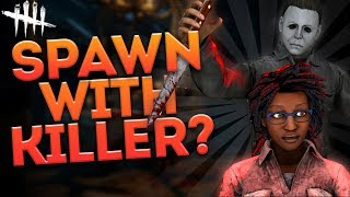 SPAWN WITH KILLER?! (Dead by Daylight Random Moments Ep. 50)