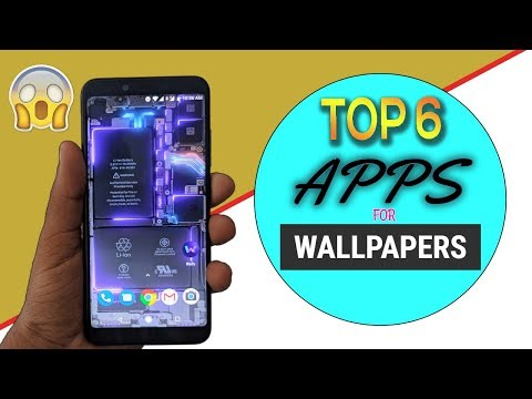 TOP 6 APPS FOR BEST AND COOLEST WALLPAPER /3D And 2D WALLPAPER  Most Useful Apps For Android 2019