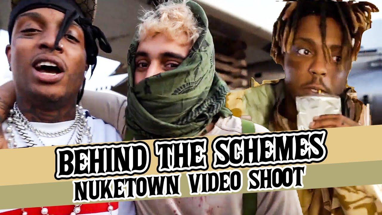 DJ Scheme Behind the Schemes: Nuketown video shoot vlog1