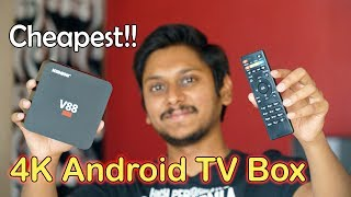 Cheapest 4K Android 6.0 TV Box Review   Only 1700Rs!!