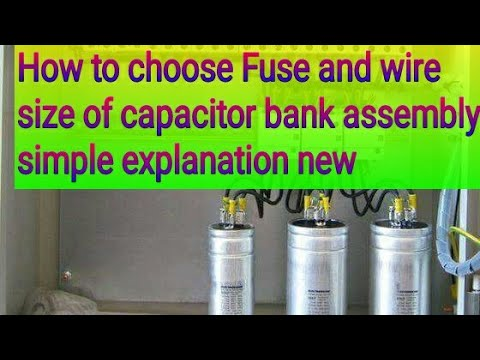 How to select fuse rating and wire size for capacitor bank making how to select fuse rating and wire size for capacitor bank making simple explanation new greentooth Image collections