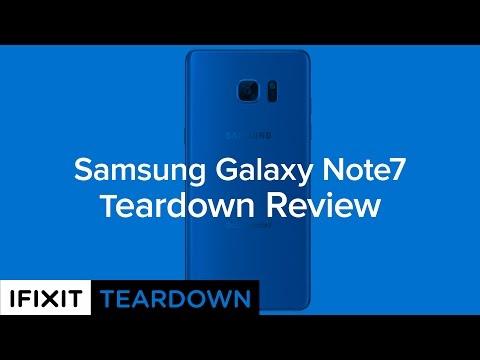 [VIDEO]Galaxy Note 7 è più facile da riparare di Galaxy S7?