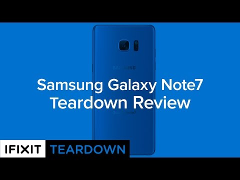 Samsung Galaxy Note7 Teardown Review!