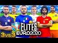 ⚽ ELITES EURO 2020 | TORNEO 3vs3 🇮🇹🇫🇷🇪🇸�������🇩🇪🇳🇱