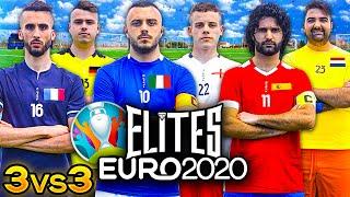 ⚽ ELITES EURO 2020   TORNEO 3vs3 🇮🇹🇫🇷🇪🇸🏴🇩🇪🇳🇱