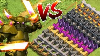 MAXED PEKKA vs ALLE MAUERN! ☆ Clash of Clans ☆ CoC