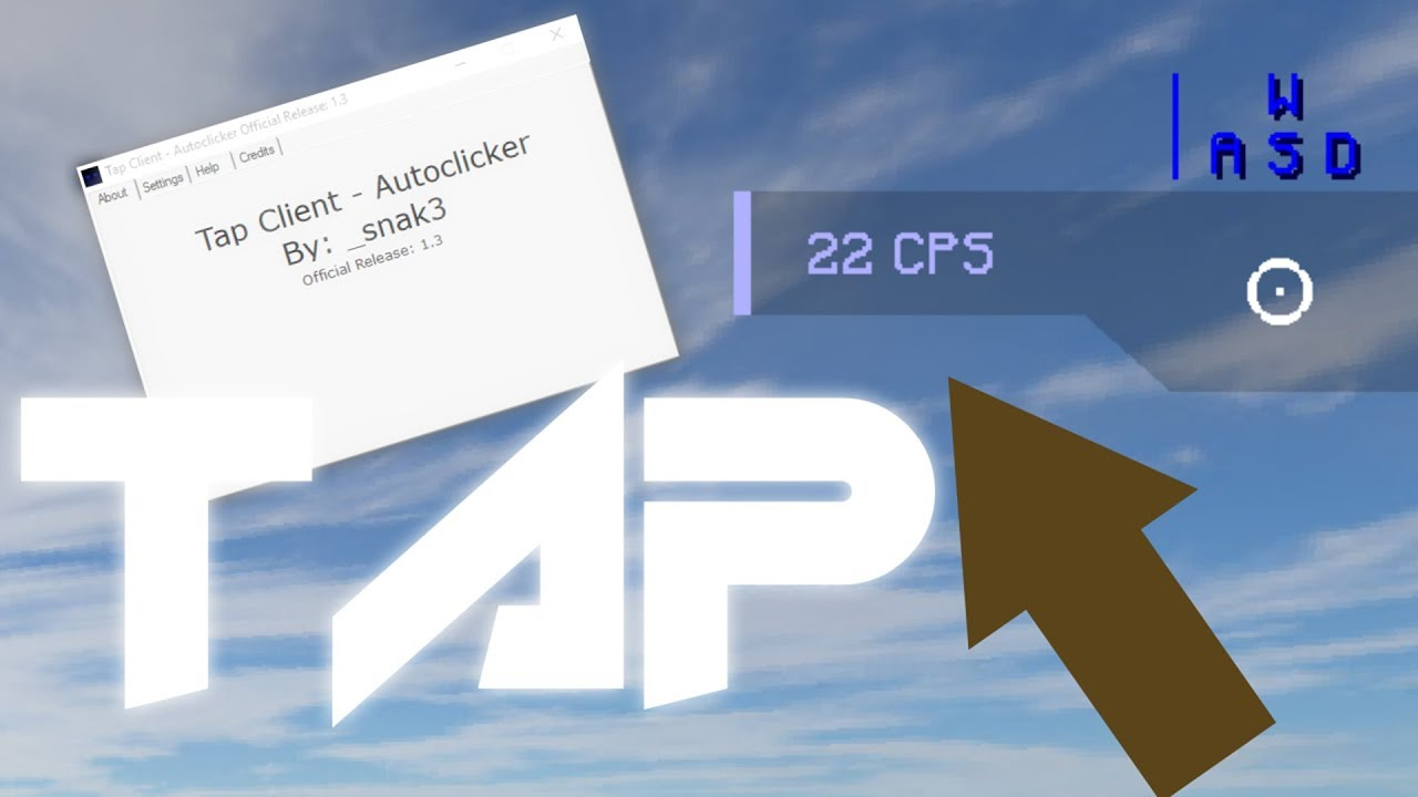 Minecraft Tap AutoClicker + Download - WiZARDHAX com