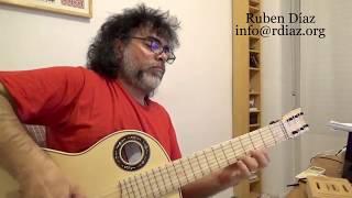 Bitonality and Polytonality  / Leonard Bernstein Series (5) Ruben Diaz modern flamenco guitar