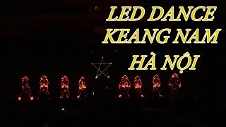 Nhảy đèn led trong sự kiện ngân hàng MSB - Led dance performance in Hanoi #NQT