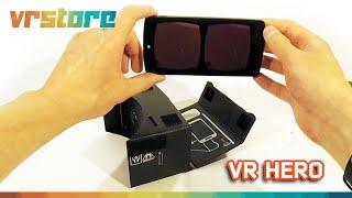 Обзор очков из картона VR Hero