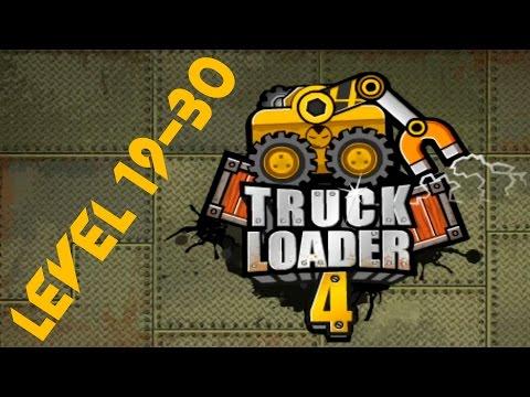 Truck Loader 4 Walkthrough(level 19-30) / Прохождение Грузовик погрузчик (ур.19-30)
