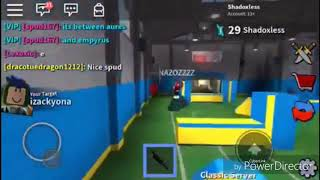 Playing Roblox Assassin Part 1