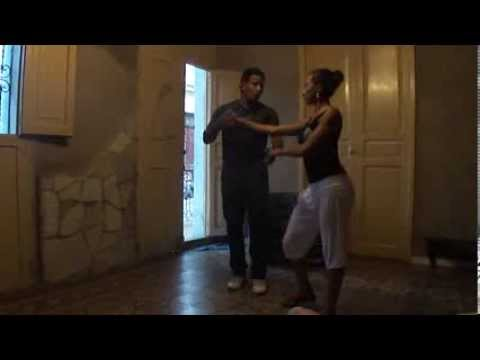 Cuban Salsa Partner Work with Yanek Revilla and Karelia Despaigne, Santiago de Cuba