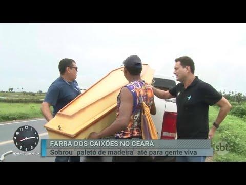 Equipe investiga 'farra dos caixões' em cidade do Ceará | Primeiro Impacto (20/04/18)