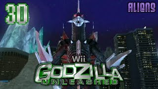 "Part 30 ""Story: Gigan (Aliens)"" - Godzilla: Unleashed [Wii]"
