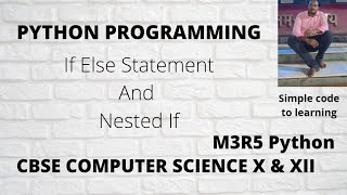 4: If Else Statement Nested If and Odd Even Number in Python