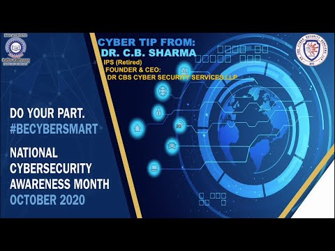 Cyber Security Awareness Month | Cyber Tip