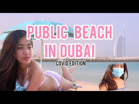 PUBLIC BEACH IN DUBAI | KITE BEACH
