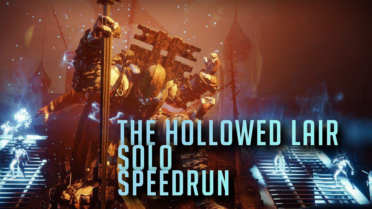 Destiny 2 - The Hollowed Lair Solo Speedrun WR (7:15)