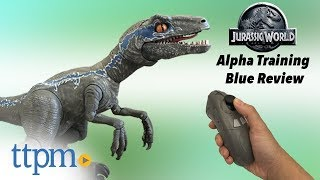 Jurassic World Alpha Training Blue from Mattel