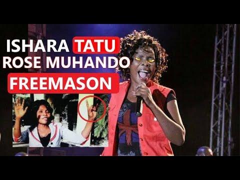 ISHARA TATU ROSE MUHANDO FREEMASON | ILLUMINAT