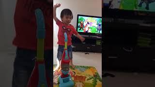 Liam sings The Wiggles song Rock n Roll Preschool