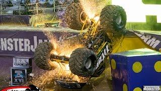 monster truck insane crashes compilation