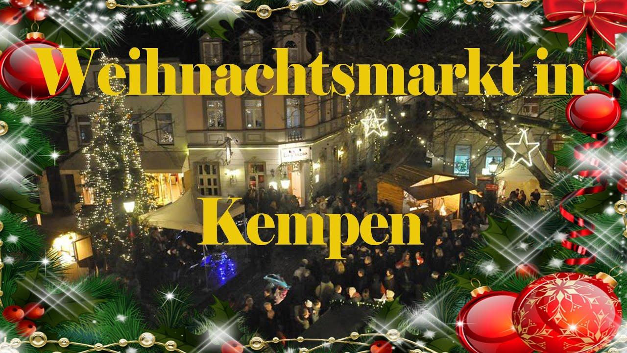 Weihnachtsmarkt Kempen.Weihnachtsmarkt In Kempen 2016