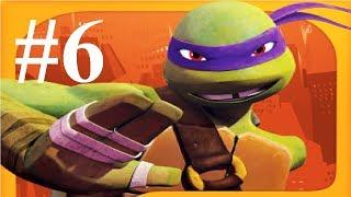 Черепашки ниндзя бег по крышам #6 мультик игра для детей о ниндзя черепашках TMNT ROOFTOP RUN