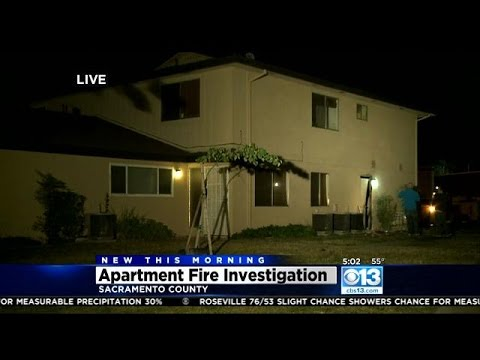 Fire at Sacramento County Fourplex Had Firefighters Searching For Elderly Resident