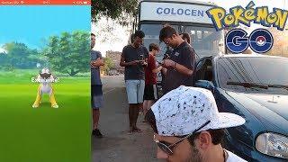 Raids Sensacional em Volta Redonda! Pokémon GO Lendário!