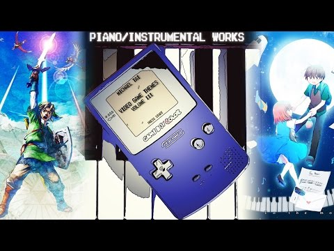 Piano/Instrumental Works: Video Game Themes - Volume III & IV (Album Download Available)
