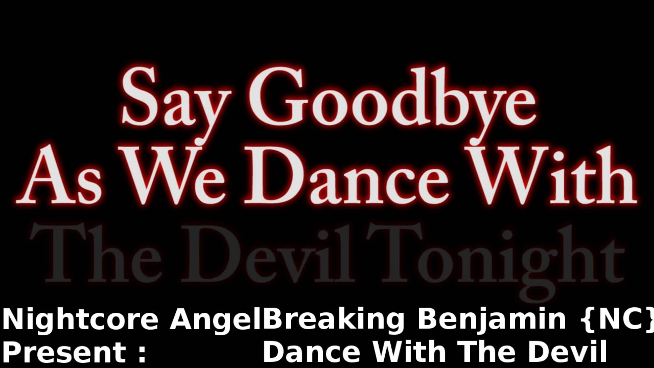 LETRA DANCE WITH THE DEVIL EN ESPAÑOL - Breaking Benjamin ...