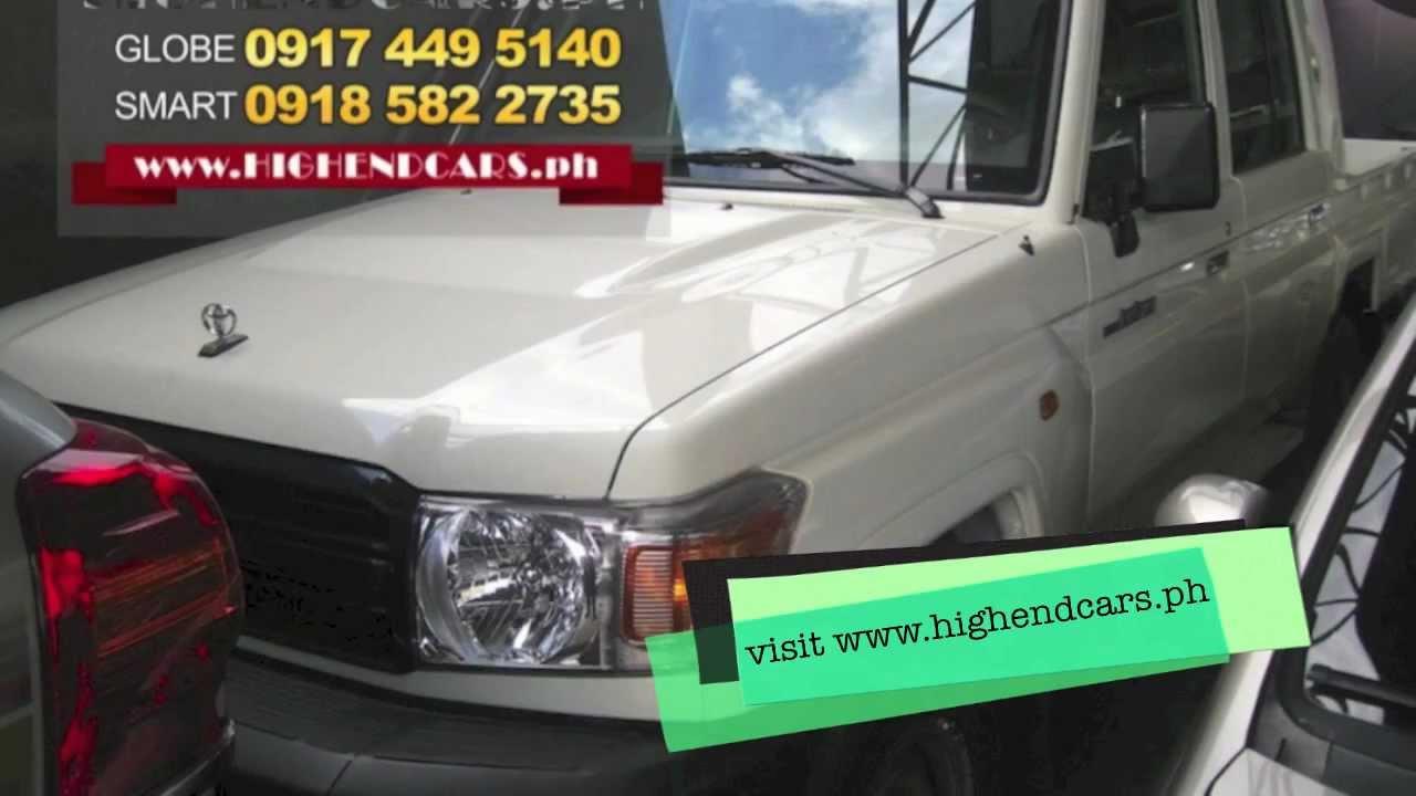 Toyota Landcruiser Dual Cab Price