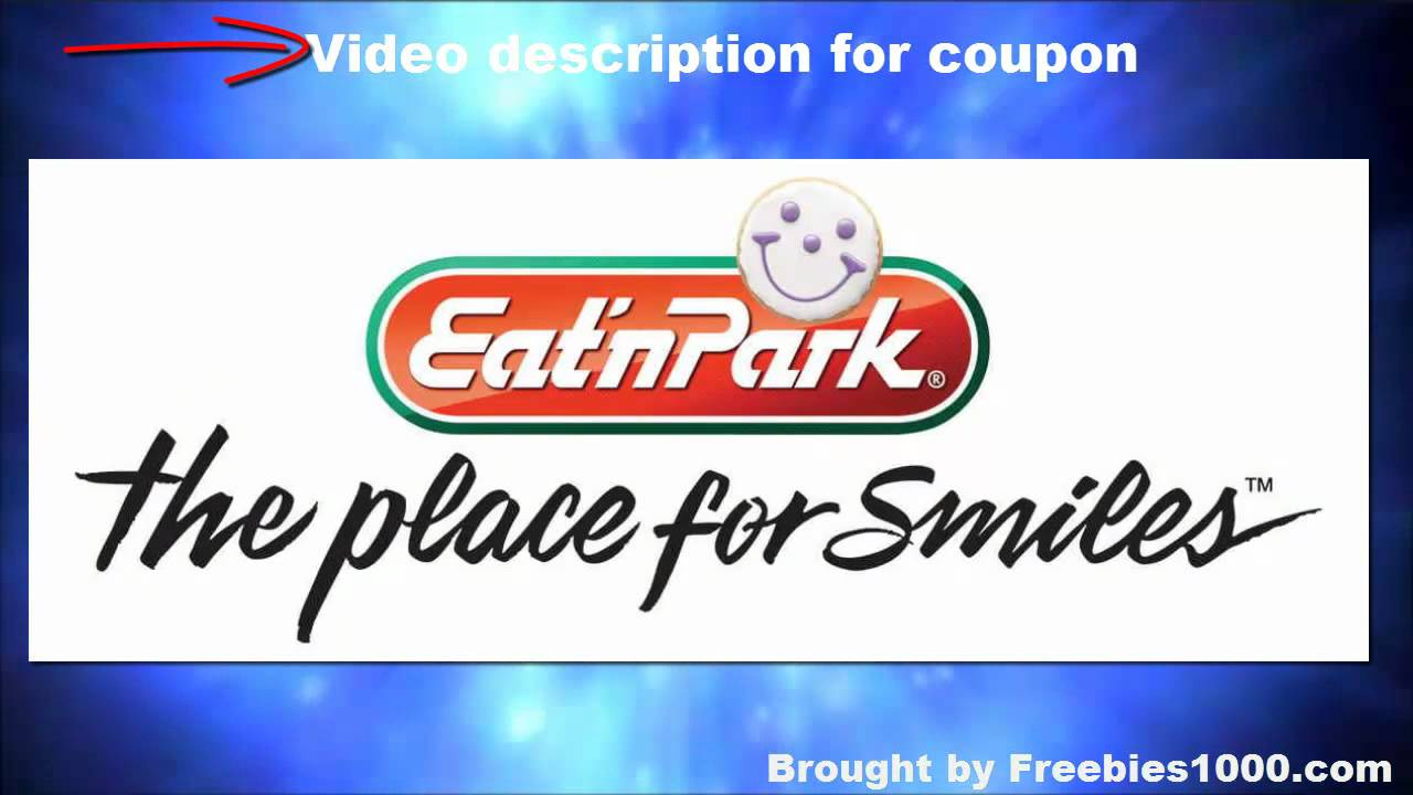 photo relating to Eat N Park Printable Coupons named Take in N Park Discount coupons - Eatn Park Printable Discount codes