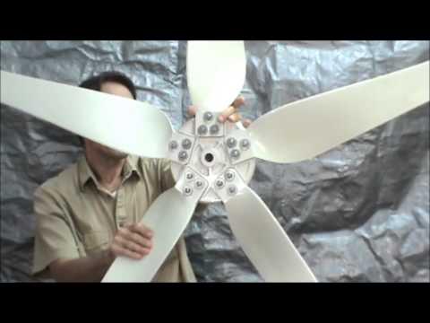 How to assemble the SkyMax Wind turbine 400 , 600 and 1000 watt